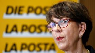 Susanne Ruoff sa retira sco scheffa da la Posta