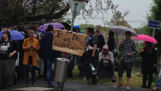 Protest gegen Scientology