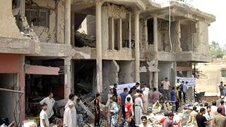 Anschlag auf Wahlkampfzelt im Irak fordert mehr als 20 Tote