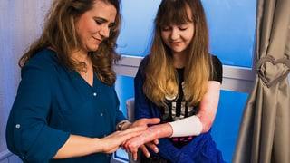 Tanja Reusser kümmert sich um Schmetterlingskinder