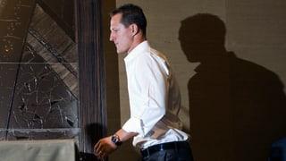 Michael Schumacher auf dem Weg der Besserung