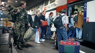Im Zugfahren sind die Schweizer einsame Spitze