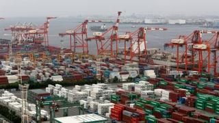 Japans Exporte überraschend zurückgegangen