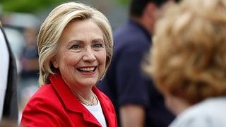 Hillary Clinton wirft China Datenklau vor
