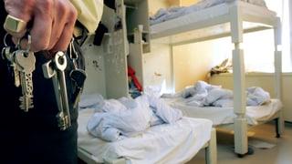 Gefängnisse in der Schweiz platzen aus allen Nähten