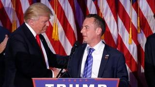 Trump preschenta intginas decisiuns da persunal