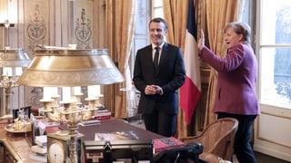 Macron und Merkel wollen Nägel mit Köpfen machen