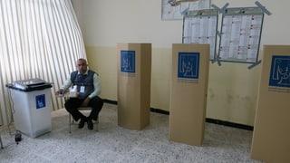 Die Iraker bleiben mehrheitlich der Wahlurne fern