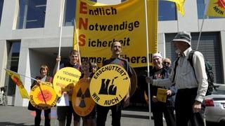 Einsprachenflut gegen Verbot der Mahnwache vor dem Ensi in Brugg
