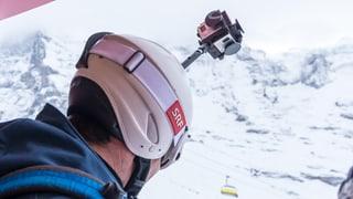 Lauberhorn-Abfahrt: Spektakuläres 360-Grad-Video
