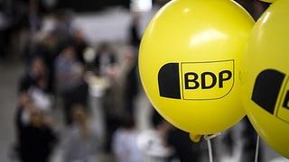 BDP liebäugelt mit FDP und CVP