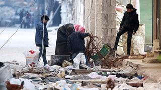 «Aleppo stösst die letzten Atemzüge aus»