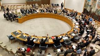 Sicherheitsrat spricht mit einer Stimme zu Syrien