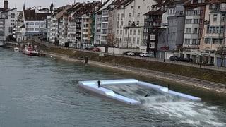 Künstliche Welle soll Surfer nach Basel locken