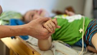 Zeit, sich um kranke Familienmitglieder zu kümmern