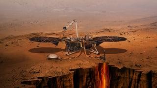 Das ist der Marsroboter