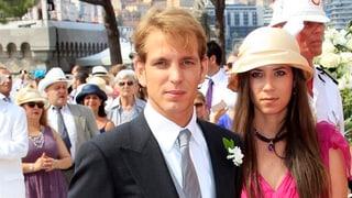 Andrea Casiraghi: Hochzeit in Gstaad