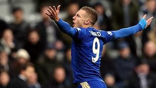 Tormaschine Vardy ballert Leicester City an die Spitze