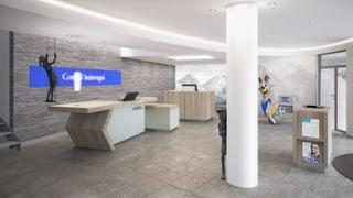 Banca Chantunala Grischuna - nov concept da filialas
