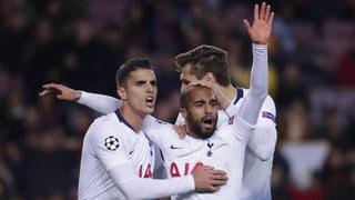 Tottenham zittert sich in die Achtelfinals