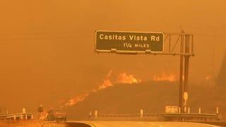 Starke Winde haben das seit fast zwei Wochen wütende Feuer immer wieder neu angefacht. Hundertausende mussten evakuiert werden.