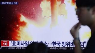 Nordkorea hat es offenbar schon wieder getan