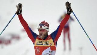 Sundby gudogna ses terz Tour de Ski en seria