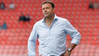 FC-Biel-Trainer Rahmen per sofort nach Luzern