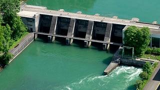 Kaum Wasser für die Flusskraftwerke
