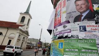 Polen steht vor einem Machtwechsel