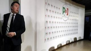 Nun sinnt Renzi auf Rache
