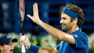 Federer è en il quartfinal da Dubai