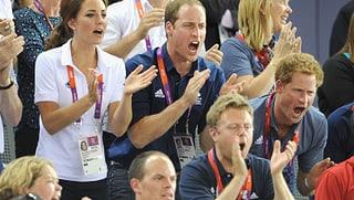 William, Kate und Co.: Royals im Olympia-Fieber