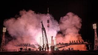 Astronauten erreichen ISS in bahnbrechender Zeit