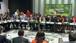 Umweltminister bekennen sich zu Pariser Klimaabkommen