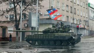 Ukraine: Separatisten wollen bis zu 100'000 Kämpfer mobilisieren