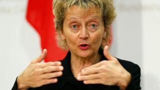 Widmer-Schlumpf: Grosse IT-Projekte einheitlich steuern