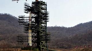 Nordkorea verschiebt Raketenstart