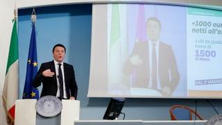 Steuergeschenke für Italiens Wirtschaft