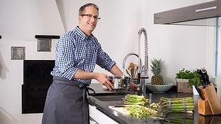 Video «Dirk Büchi: «Kochen? Nur mit innerer Ruhe» » abspielen