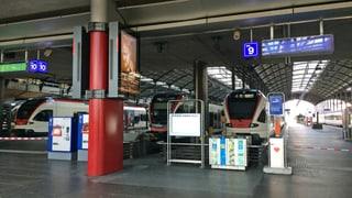 Bahnhof Luzern wird für zwei Tage komplett gesperrt