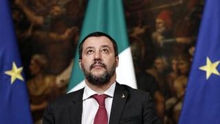 Salvini mit «Mut gegen die EU»