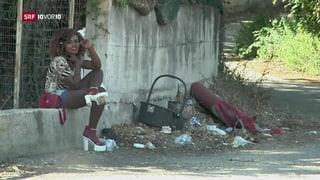 Tausende Afrikanerinnen werden zur Prostitution gezwungen