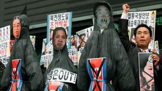 Nordkorea bleibt bei der Kriegsrhetorik