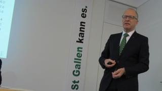 St. Gallen ist bei der Haushaltssanierung auf Kurs