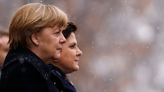 Merkels Kritik an Polen auf Umwegen