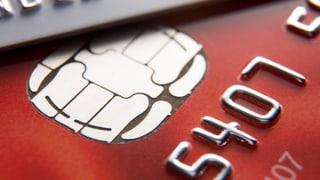 Kreditkarte nah