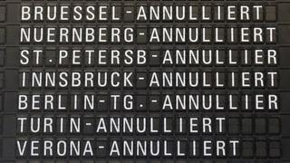 Streik bei Lufthansa zeigt schon Wirkung