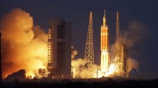 Erfolgreicher Testflug: Die Nasa blickt zum Mars