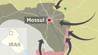 Das sind die Akteure der Offensive auf Mossul